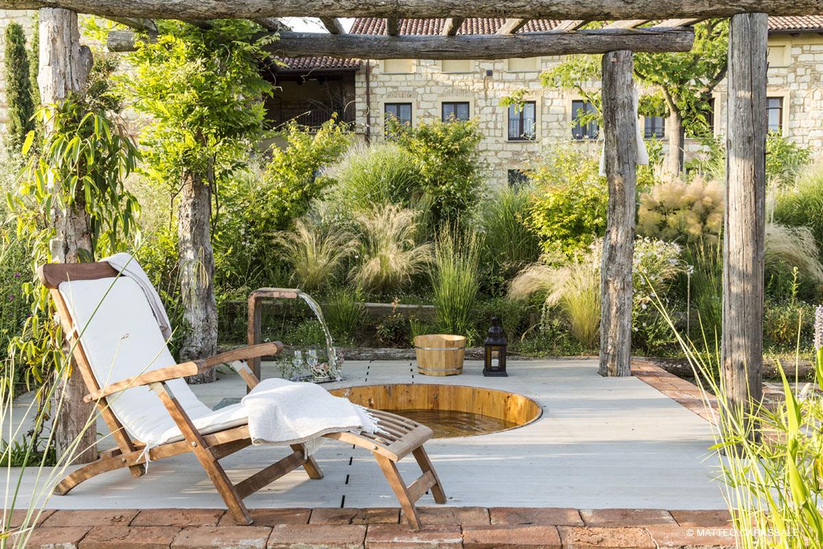 Garden design By Cristina Mazzucchelli.